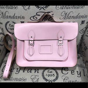 13 inch Cambridge Satchel, light pink
